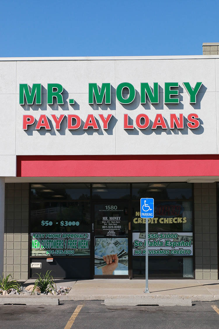Mr. Money Payday Loans in Clearfield, Utah - Town Locations